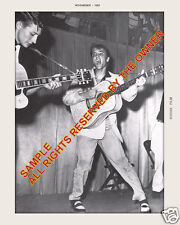 ELVIS PRESLEY PHOTOGRAPH  w. Scotty Moore  8X10   GREAT POSE 2014 JUST IN