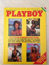 PLAYBOY ITALIA GIUGNO 1976 LEA MASSARI ZEUDI ARAYA JANET AGREN MARISA MELL