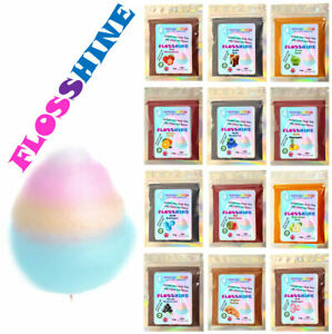 FLOSSHINE EIF Colour & Flavour for your Candy Floss Cotton sugar 26 variations.