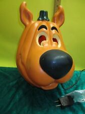 Scooby Doo Halloween Jack-O-Lantern Hanna Barbera Lighted Pumpkin