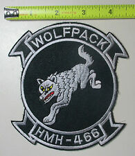 Marine Heavy Helicopter Squadron Wolf HMH-466 Wolfpack USMC Corps Aviation Patch