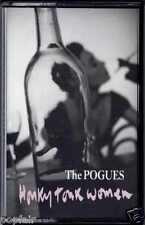 THE POGUES - HONKY TONK WOMEN 1992 UK CASSINGLE SHANE MACGOWAN