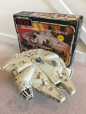 VINTAGE STAR WARS PALITOY MILLENNIUM FALCON ROTJ 1983 WITH BOX AND INSTRUCTIONS