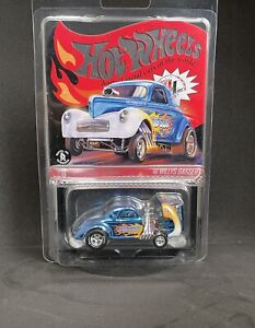 """2020 Hot Wheels RLC Selections Series '41 Willys """"Wild Blue"""" Gasser! IN HAND!"""
