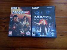 Mass Effect (PC, 2008) + Mass Effect 2 (PC, 2010)