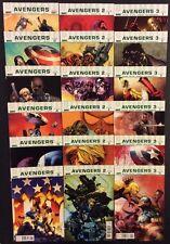 ULTIMATE AVENGERS #1-6 Comic Books Full Series 1, 2 & 3 Marvel Iron Man 18 Books