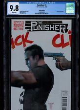Punisher #3 (2014), 1:50 Alex Maleev Variant, CGC 9.8, Less than 600 Printed!