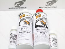 HONDA CB 400 FOUR verni lackset Color Paint Laque Light Ruby red Rouge r-25