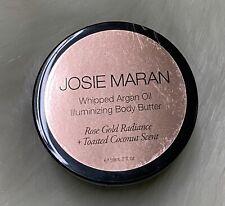 Josie Maran Whipped Argan Oil Illuminizing Body Butter Toasted Coconut 2fl oz