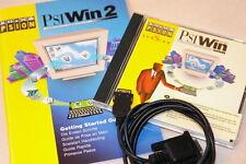 PSIWIN + CABLE série Psion Series 3c 3mx 5mx, manuel, Windows10 OK