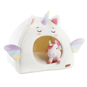 Cute Unicorn Cat Dog Cave Bed House Igloo