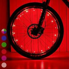 DAWAY Red Led Bike Wheel Light A01 Waterproof Bright Bicycle Tire Light Strip