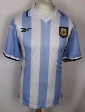 MARC #10 VINTAGE ARGENTINA HOME FOOTBALL SHIRT REEBOK RARE 99-00 MENS LARGE