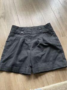 Girls Next Grey School Shorts Age 8-9