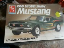 amt 1/25 1968 FORD SHELBY MUSTANG GT-500 FASTBACK 3n1