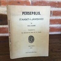 Persepolis By Ali-Sami Musavi Printing Office, Shiraz 1970