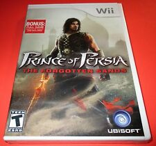 Prince Of Persia: The Forgotten Sands Nintendo Wii -  Factory Sealed! Free Ship!