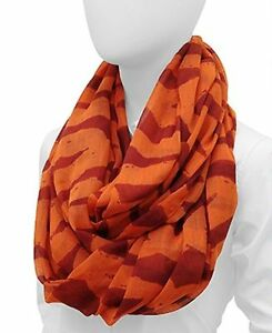 Infinity Loop Scarf Wrap Style Abstract Chain Pattern Fashion Accessory 70 x 44