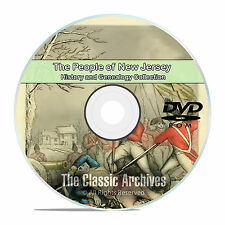 New Jersey NJ, People, Cities, Towns, History and Genealogy 79 Books DVD CD B10