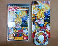 Sony PSP Playstation Portable DRAGON BALL Z Shin Budokai 2 Dragonball Bandai ITA