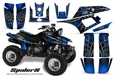 YAMAHA WARRIOR 350 GRAPHICS KIT CREATORX DECALS STICKERS SPIDERX BL