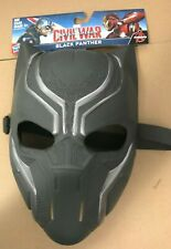 Captain America Civil War Black Panther Mask NEW! FACE MASK, Hasbro, Avengers