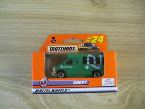 MATCHBOX SUPERFAST  MB24    CHEVY VAN  NATIONAL  ABSOLUTELY MINT