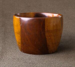 Circa 1840 Rosewood Salt