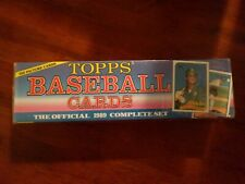 1989 Topps Baseball Factory Complete Set 792 Picture Cards