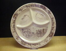 Vintage Tepco China Western Traveler Grill Restaurant Ware Plate
