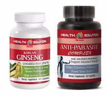 enhancement formula - KOREAN GINSENG – ANTI-PARASITE COMBO 2B - ginseng oil