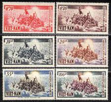 Viêt Nam - 1955 - Exode des populations  - N° 32 à 37 - Neufs * - MLH