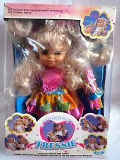 VINTAGE GOLDEN HAIR TRESSIE / 1990 CITITOY / IN ORIGINAL BOX WITH ACCESSORIES