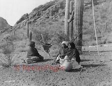 New Art Print 1907 Edward Curtis Photo Quhatika Indian Women, Arizona 11X17