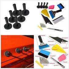 12Pcs Car Wrap Vinyl Tools Scratch-free Squeegee Scraper Razor With Magnets Kit