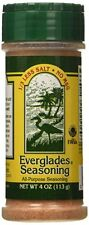 EVERGLADES SEASONING - All Purpose Seasoning with 1/3 Less Salt and NO MSG 4 oz.