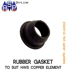 RUBBER GASKET TO SUIT COPPER ELEMENTS ELECTRIV HOT WATER SYSTEM - 050704