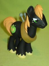 "G4 My Little Pony FiM 3"" Funko Mystery Mini BIG MAC McINTOSH Black Figure w/Yoke"