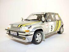RENAULT R5 GT TURBO n°9 vainqueur Rallye COTE D'IVOIRE 1989 Alain OREILLE 1/18