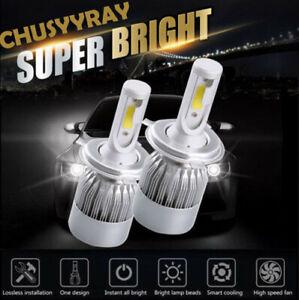 2x H4 LED Headlight Bulbs For Hino 145 165 185 258 268 338 Hi/Low Beam Plug&Play