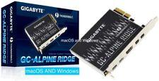 Gigabyte GC-Alpine Ridge Thunderbolt 3 USB-C flashed Apple Mac Pro BootScreen