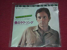 "John O'Banion ‎– Love You Like I Never Loved Before 7""  Promo  Japan Pressing"