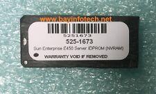 525-1673 IDPROM NVRAM For Sun Enterprise E450 Server New Battery