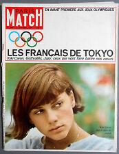 ►PM 808-1964-KIKI CARON JEUX OLYMPIQUES TOKYO-JEAN GABIN-FERNANDEL-JANE FONDA...