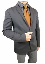 Calvin Klein € 349 NEW Mens Designer Grey Tailcoat Sport Blazer Jacket sz 38 J26