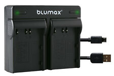 Bateria dual cargador para olympus blm1 blm5-CAMEDIA c-5060 Wide zoom 90108-90306