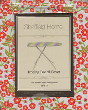 New Sheffield Home Ironing Board Cover Floral Pretty Flowers