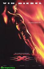 Movie Poster~xXx Vin Diesel 2002 Solo Theater Sheet Xander Cage Asia Argento~93