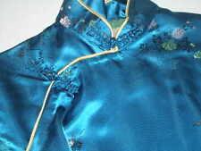 "Satin, ""Handmade"" Geisha Dress w/Shawl True Vintage 1947-1964"
