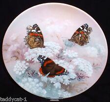 On Gossamer Wings ~ 8. Bradex Schmetterling Sammelteller RED ADMIRALS ~ Lena Liu